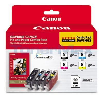 CANON PGI-5/CLI-8 INK CMYK COMBO PACK